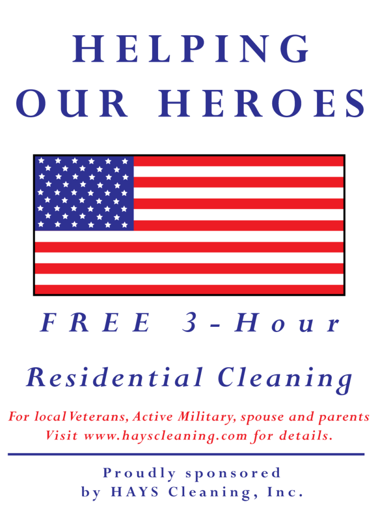 Free Housecleaning for Veterans